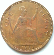 Great Britain 1 Penny 1962 coin