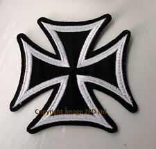 P4 Christian Knights Templar Iron on Patch Biker Crusade Gothic German Cross
