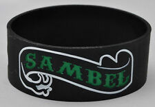 Authentic Sons Of Anarchy Ireland Irish Sambel Biker Silicone Wristband Bracelet