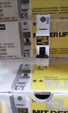 3pcs AEG ELFA MCB CIRCUIT BREAKER 20A,10KA,1 POLE, 240/415V E81S U20