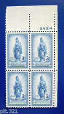 Sc # 989 ~ Plate # Block ~ 3 cent National Capital Sesquicentennial Issue