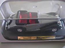 Delahaye 135 M Figoni 1937, Silber, von Voitures 1:43, Cabriolet, Original verp.