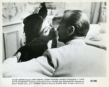 AUDREY HEPBURN GARY COOPER BILLY WILDER ARIANE 1957  VINTAGE PHOTO ORIGINAL #2