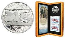 2005 Atlantic Walrus Proof $5 Pure Silver Coin & Stamp Set