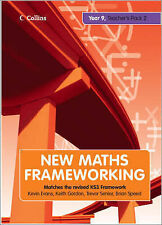 New Maths Frameworking - Year 9 Teacher's Guide Book 2 (Levels 5-7) New Wrapped.