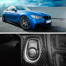 New Carbon Fiber Engine Start Button Cover Molding for BMW 3Series F30