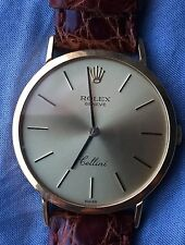 ROLEX CELLINI  - GOLD WATCH FOR MEN  - ORO 18K - ELEGANTISSIMO  - UOMO