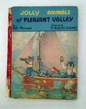 Rare Boat Cover 1938 JOLLY ANIMALS OF PLEASANT VALLEY Munson Dummer McLoughlin