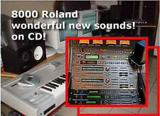 sound banks patches sounds cd fr Roland XP80 XP60 XP50 XP30 XV3080 XV5050 XV2020