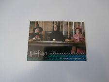 Carte Harry Potter et l'Ordre du Phénix N°37 Le nouveau professeur !