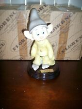 DISNEY ARMANI DOPEY DWARF FIGURINE RETIRED SIGNED