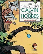 BOOK softcover 1992 THE INDISPENSABLE CALVIN & HOBBES Bill Watterson VGC Cartoon