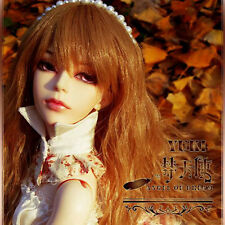 Angel of Dream YUKI AOD 1/3 SD BJD Super Dollfie free face-up eyes fur wig
