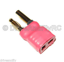 High Amp Hxt 4mm Male to Deans Female T-Connector Adapter Style Turnigy lipo