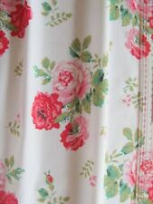 Cath Kidston antique rose white 1M 100cm square lightweight fabric new cotton