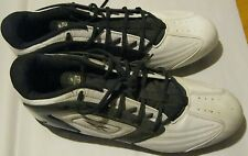 Reebok NFL equipment Football Cleats navy white size 15 nice