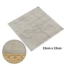 15 x 15cm 500 Mesh 25 Micron 316 Stainless Steel Wire Cloth Screen Square Sheet