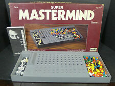 Vintage Super Mastermind Master Mind Board Game by Chieftain *Complete*