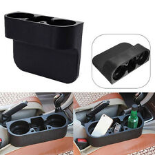 NEW 2 Cup Holder Drink Beverage Seat wedge Car Auto Truck Universal Mount Black