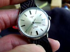 NICE! Vintage 21 JEWEL MEN'S TIMEX 1967 RUNNING AUTOMATIC WRISTWATCH