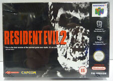 RESIDENT EVIL 2 - NINTENDO 64 N64 - NEW SEALED VERY RARE CAPCOM - PAL VERSION **