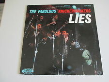 THE FABULOUS KNICKERBOCKERS-LIES-VINYL LP RECORD- ORIGINAL  STEREO VG++ TO NM -