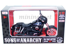MAISTO 32341 SONS OF ANARCHY HARLEY DAVIDSON 2003 JACKSON JAX TELLER 1/12 BLACK