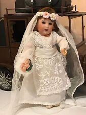 Jolie Robe De Mariée Pour Poupée BLEUETTE Copie Ancienne