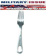 You Get (1) NEW Military Issue Stainless Steel Military Mess Kit Fork NEW!!!!!!!