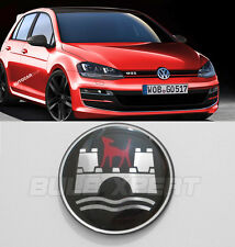 97 98 99 00 01 02 VW GOLF MK 4 IV GTI WOLFSBURG STEERING WHEEL EMBLEM BADGE