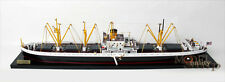 US Navy Liberty Cargo Ship WW2 Waterline Model ready for Display NEW