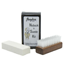 Suede Cleaner Kit Soil + Spot Remover Cleaning Block & Brush By Angelus