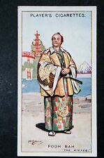 The Mikado   Gilbert and Sullivan  POOH BAH  1920's Vintage Card  VGC