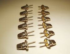 """TWIST Fastener Turn Button Stud Self-Tapping Wood Screw  5/8"""" - 12 pcs"""