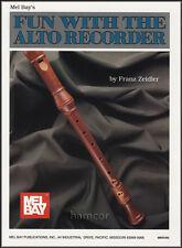 Diversión Con La Flauta Contralto aprender a jugar la música Libro