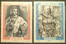 POLAND-STAMPS MNH Fi3178-79 SC3033-34 Mi3326-27 - Polish Kings, 1991 - clean