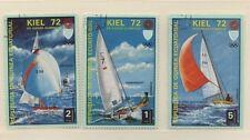 GUINEA ECUATORIAL SERIE 3  FRANCOBOLLI USATI TEMATICA OLIMPIADI 1972  (481)