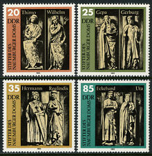 Germany DDR/GDR 2355-2358, MNH. Naumberg Cathedral Statues, 15th Cent. 1983