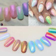 5Pcs/Set 3g Sirène Paillette de Poudre Scintillant Décorative Pr Ongles Nail Art