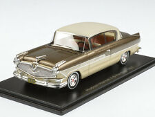 Neo Hudson Hornet 2-door hardtop coupe 1957 Brown/beige 1:43 44670