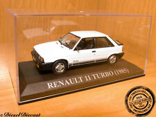 RENAULT 11 TURBO WHITE 1985 1:43 MINT!!!