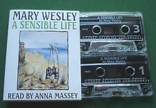 Mary Wesley A Sensible Life Anna Massey Audio Book Cassette Tape x 2 - TESTED