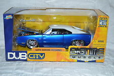 Jada Big Time Muscle 1:24 Scale 1970 DODGE CHARGER R/T Diecast Dub City