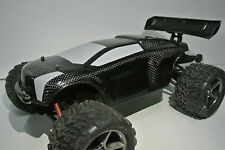 TRAXXAS 1/16 E-REVO REAL CARBON FIBER BODY  WITH OPT. LED LIGHT
