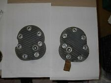 RARE One Pair of Factory NOS 1939 Indian Sport Scout Heads * One Year Only* RARE