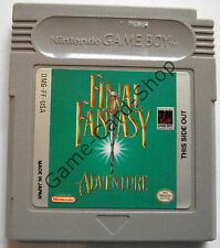 GAME BOY-FINAL FANTASY Adventure-SOLO MODULO-USATO