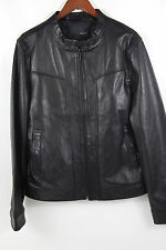 #5 7 DIAMONDS 'Tunderbird' Leather Jacket Size XXL