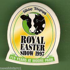 #D59.  PLASTIC LAPEL BADGE - 1997 SYDNEY ROYAL EASTER SHOW
