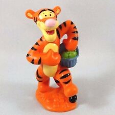 TIGGER w BASKET Miniature Figurine Figure PVC TOY Cake Topper DISNEY POOH 3""