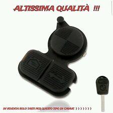 Pulsanti Tasti Gomma 3 Chiave Key Telecomando BMW X5 E53 E39 E46 Serie 3 5 7 E X